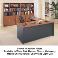 BBF Bush Series C Package L-Shaped Straight Desk - SC12A