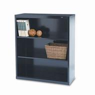 "Tennsco Bookcase 40"" 3-Shelf Metal - TNN-B-42"