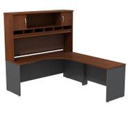 BBF Bush Series C Package Executive L-Shaped Desk Right Hansen Cherry - SRC002HCR