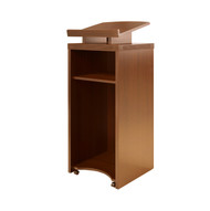 * MONTHLY SPECIAL! Mayline Aberdeen / Brighton Series Lectern Cherry Finish - ALCT-LCR