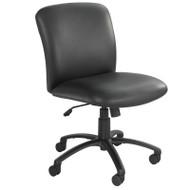 Safco Uber Big and Tall Mid Back Chair no Arms - 3491