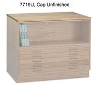 Mayline Wood Cap for 7719C Wood Plan File - 7719U