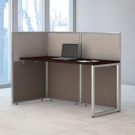 """BBF Bush Easy Office Straight Desk 60"""" Open - EOD160MR-03K"""