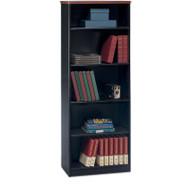 "BBF Bush Series A Bookcase 5-Shelf 66"" Hansen Cherry - WC94465"