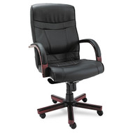 Alera Madaris Series High  Back Swivel / Tilt Chair - MA41LS10M
