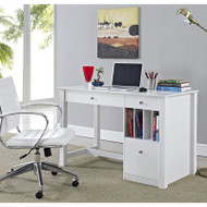 "Walker Edison Clara Wood Desk 48"" - DW48D30WH"
