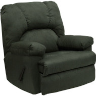 Flash Furniture Contemporary Montana Loden Microfiber Suede Rocker Recliner - WM-8500-266-GG