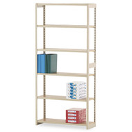 Tennsco Regal Shelving Starter Set 6-Shelves - RGL-1236S
