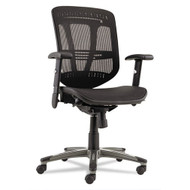 Alera Eon Series Multifunction Mid-Back Mesh Chair with Suspension Mesh Seat Black - EN4218