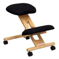 Flash Furniture Wooden Ergonomic Kneeling Posture Office Chair - WL-SB-210-GG