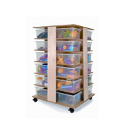 Whitney Brothers 24-Tray Cubby Tower - WB0702