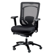 Eurotech by Raynor Monterey Mesh Back Chair with Fabric Seat - MFSY77