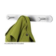 Safco Nail Head Coat Hook , 3-Hook (pack/12) - 4201