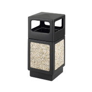 Safco Canmeleon Aggregate Series 38 Gallon Receptacle with Side Openings - 9472