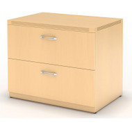 """* MONTHLY SPECIAL! Mayline Aberdeen Lateral File Cabinet 30"""" Free Standing Maple - AFLF30-LMA"""