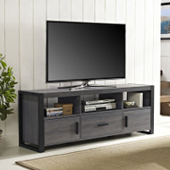 Walker Edison City Grove TV Console Charcoal - W60CGS1CL