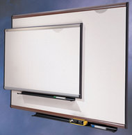 Quartet Prestige Total Erase Boards 4' x 3' Graphite Finish Frame - TE544G