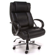 OFM Avenger Series Big & Tall Executive High Back Chair Black - 810-LX