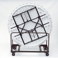 Correll Table Truck - Round Tables - Edge Stack 60 x 60 - T6060