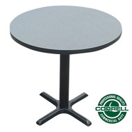"Correll Bar and Cafe Breakroom Table Round 30"" - BXT30R"