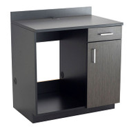 Safco Hospitality Appliance Base Cabinet , Asian Night/Black - 1705AN