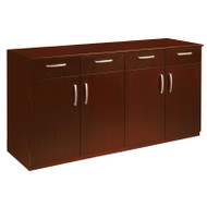 * MONTHLY SPECIAL! Mayline Napoli or Corsica Veneer Buffet Credenza Sierra Cherry - VBCZ-CRY