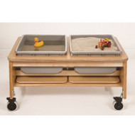 Whitney Brothers 2-Tub Sand and Water Table - CH4049