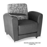 OFM InterPlay Series Chair with Tablet (Pack of 3 chairs) - 821-3