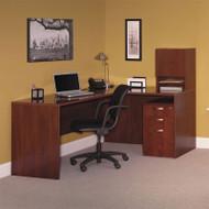 Bush Venture L-Shaped Desk - 3699CL-03K