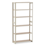 Tennsco Regal Shelving Add-On Unit, 6 Shelves - RGL-1236A