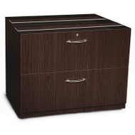 """Mayline Aberdeen Lateral File Cabinet 36"""" for Credenza (NO TOP) Mocha - ACLF36"""