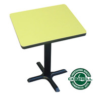 "Correll Bar and Cafe Breakroom Table Square 42"" - BXT42S"