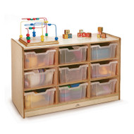Whitney Brothers 9-Tray Storage Cabinet - WB0909T