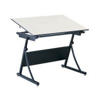 """Safco Planmaster Height-Adjustable 60"""" Drafting Table - 3948-3957"""