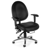 MONTHLY SPECIAL! OFM Big & Tall 24-hour High Back Vinyl Computer Ergonomic Chair - 247-VAM