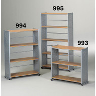 Mayline Eastwinds Bookcase 4-Shelf - 994