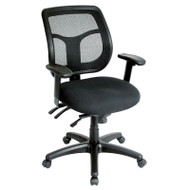 Eurotech by Raynor Apollo Multi-Function Mesh Back Chair with Fabric Seat - MFT9450