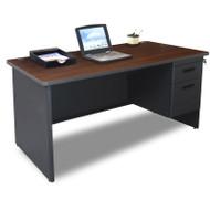 Marvel Single Pedestal Steel Desk 60 x 30 - PDR6030SP