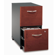 BBF Bush Series C Mobile File Cabinet 2-Drawer in Hansen Cherry Assembled - WC24452SU