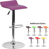 Flash Furniture Contemporary Vinyl Adjustable Height Barstool - DS-801-CONT-XX-GG