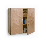 Whitney Brothers Lockable Wall Mounted Cabinet - WB3535