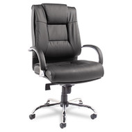 Alera Ravino Big & Tall Series Mid-Back Swivel Tilt Leather Chair - RV45LS10C