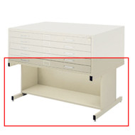 Safco Open Flat File Base for Flat File 4998 Tropic Sand Finish - 4979TSR