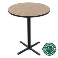 "Correll Bar and Cafe Breakroom Table - Bar Stool Height - Round 42"" - BXB42R"