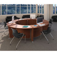 MONTHLY SPECIAL! OFM Marque ADA Desk Circular Workstation Package - MARQUE3