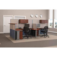 Bush Office-in-an-Hour Desk Workstation Reception Package - OIAH009HC