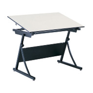 """Safco Planmaster Height-Adjustable 48"""" Drafting Table - 3951-3957"""