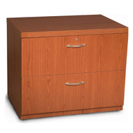 """* MONTHLY SPECIAL! Mayline Aberdeen Lateral File Cabinet 30"""" Free Standing Cherry Finish - AFLF30-LCR"""