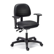 Cramer Fusion Fit R Plus Desk-Height Small Back Chair 4-way - RPSD4