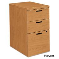 HON 10500 Series Mobile Pedestal Box/Box/File, Harvest - 105102CC